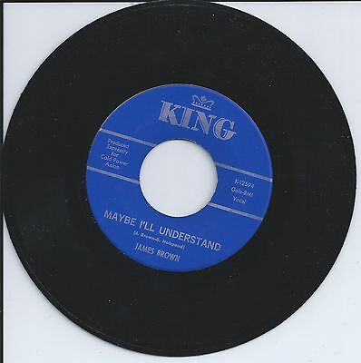 Soul 45  James Brown  I Love You  Maybe Ill Understand   Cold Power Axion Promo