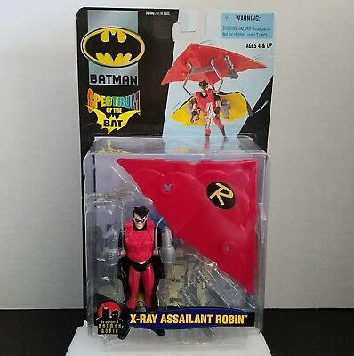 Hasbro 2000 Spectrum of the Bat X-Ray Assailant Robin Collectible Action Figure