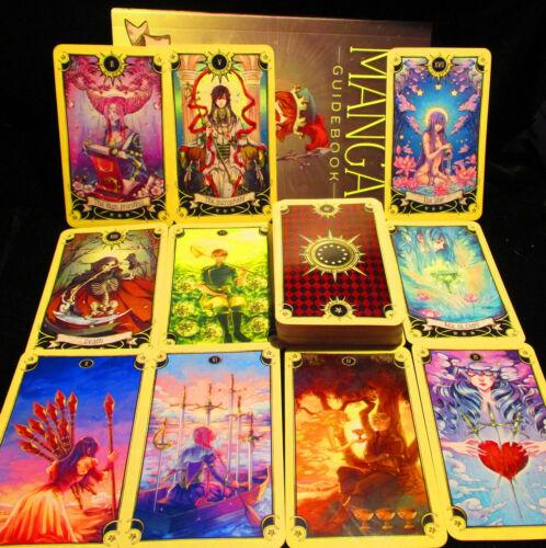 SEALED NEW ~ MYSTICAL MANGA TAROT CARDS & BOOK ORACLE BASED ON RIDER WAITE TAROT