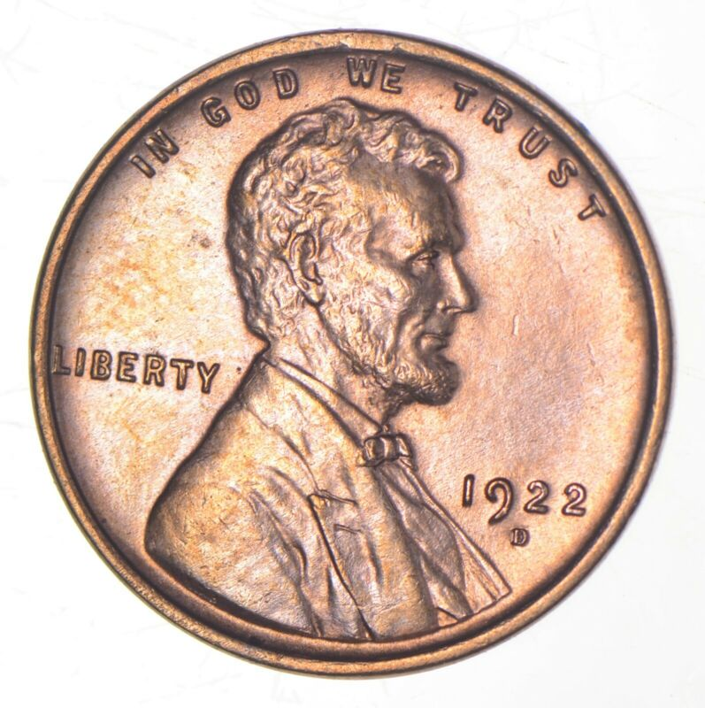 1922-D Lincoln Wheat Cent *9105