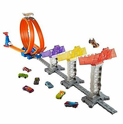 Hot Wheels Super Score Speedway Car Track Set Ages 4+ New Toy Racing Play Boys