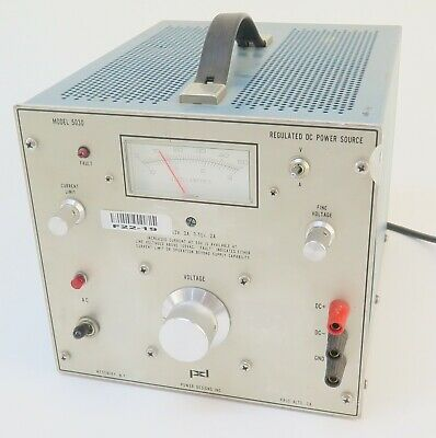 Power Designs 5030 0-33v 3a0-50v 2a Regulated Dc Power Supply