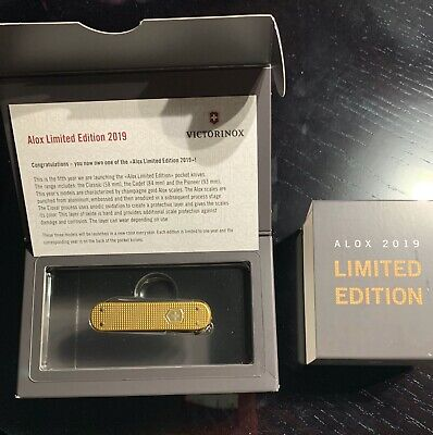VICTORINOX SWISS ARMY KNIFE Classic Alox Limited Edition