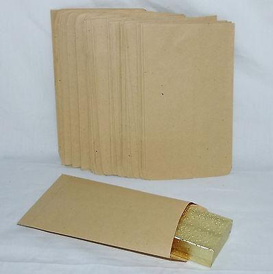 100 Kraft Paper Gift Bags 5 X 7