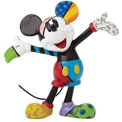 Disney by Romero Britto Mickey Mouse Mini Figurine Ornament 8cm 4049372