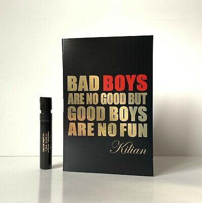 New Kilian Bad Boys Are No Good But Good Boys Are No Fun 1.2ml EDP Spray Sample
