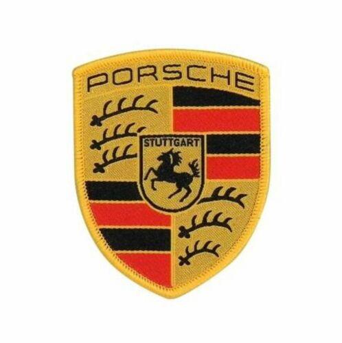 Patch, Crest, Ecusson PORSCHE Authentic & New WAP10706714 - A coudre - To sew