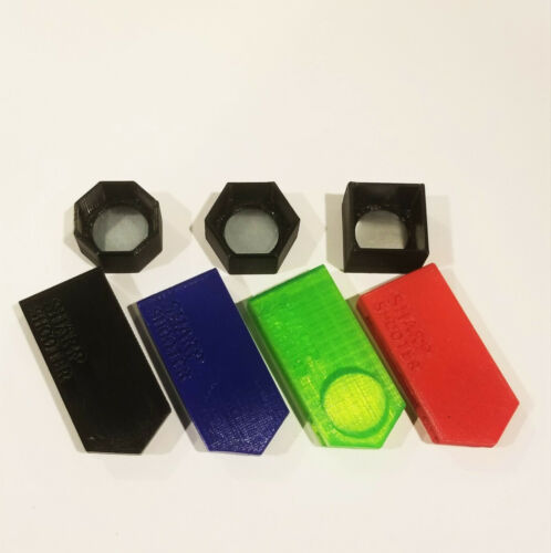 Pool Billiards Sharpshooter Magnetic Belt Multi Chalk Holder Fit Predator Square
