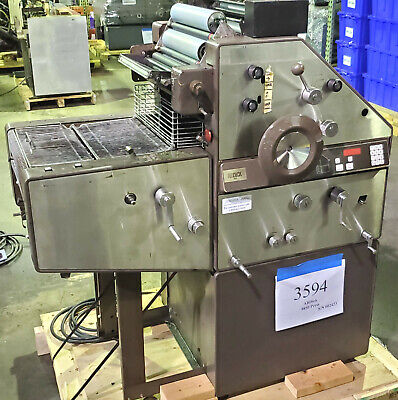 Ab Dick 9850 13 X 18 Single Color Offset Printing Press Cont Dampening - 3594