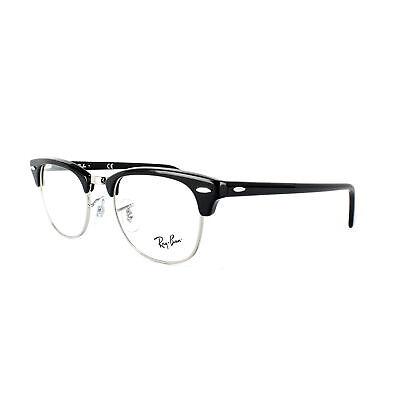 Ray-Ban Glasses Frames 5154 Clubmaster 2000 Shiny Black 51mm