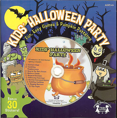 Kids' Halloween Party -spooky sounds-party games-carving patterns-stickers - Carving Patterns Halloween