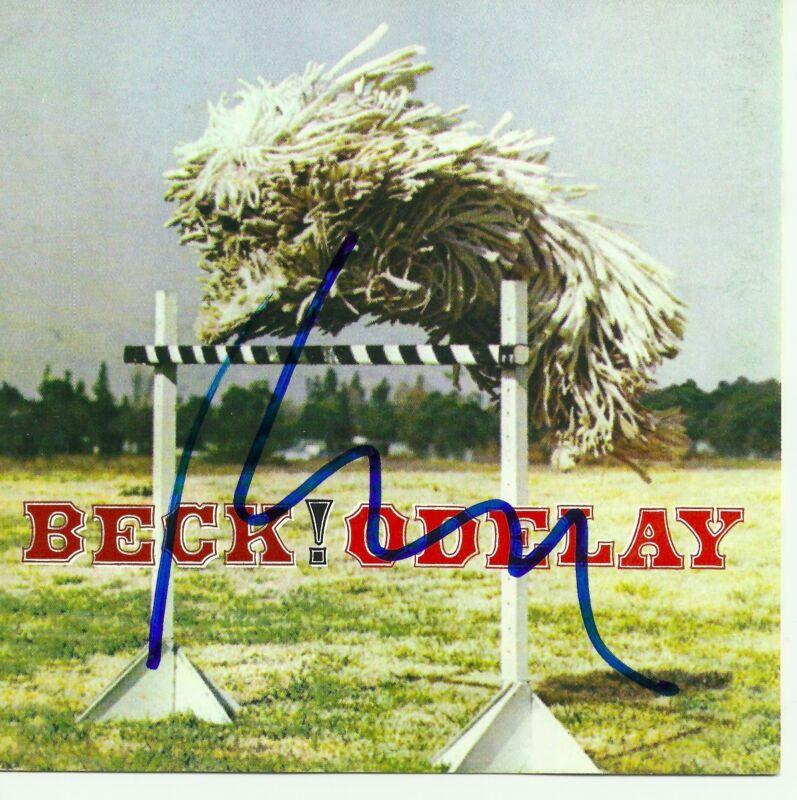 Beck signed Odelay cd