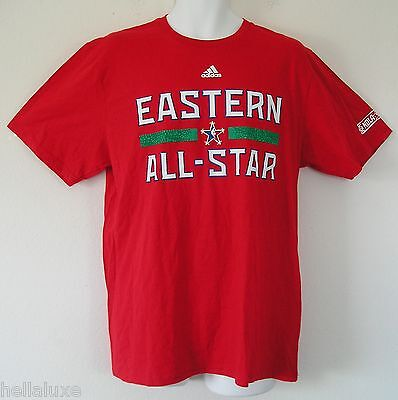 f336dcbb34d Adidas EASTERN CONFERENCE 2014 NBA ALL STAR Jersey-T SHIRT Basketball~Mens  sz Lg