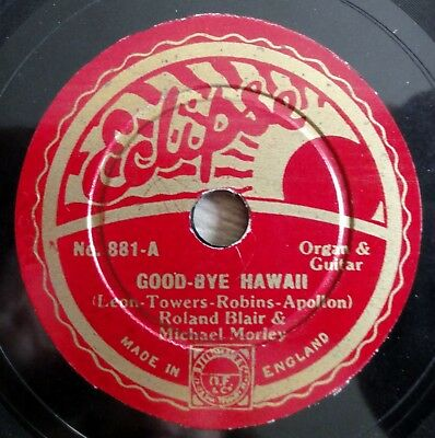 Roland Blair & Michael Morley - Good-Bye Hawaii - Eclipse - /8