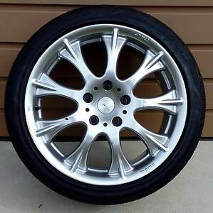 Alloy wheels MOMO 18x8.5 inch with tyres Taylors Lakes Brimbank Area Preview