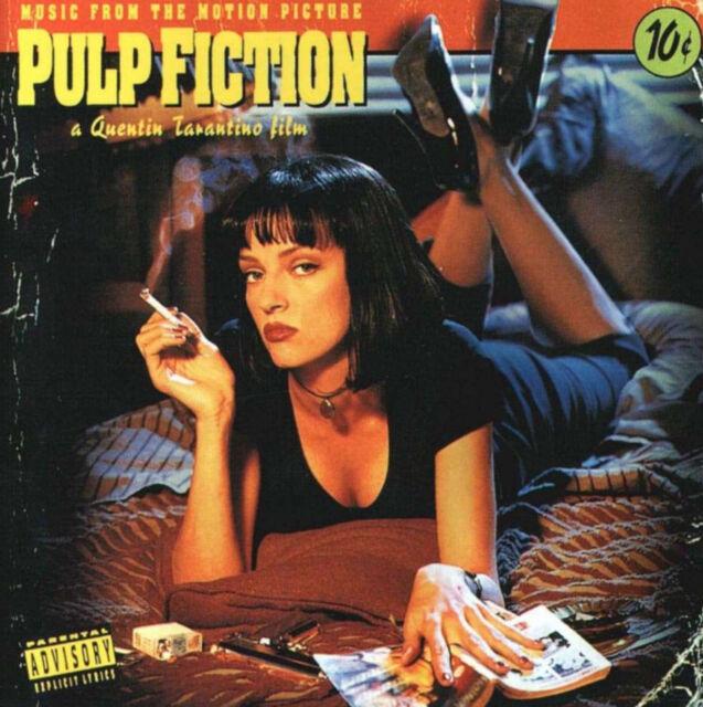 "OST ""pulp fiction"" Soundtrack Vinyl LP + MP3 NEU ""Back to Black-Serie"" Filmmusik"