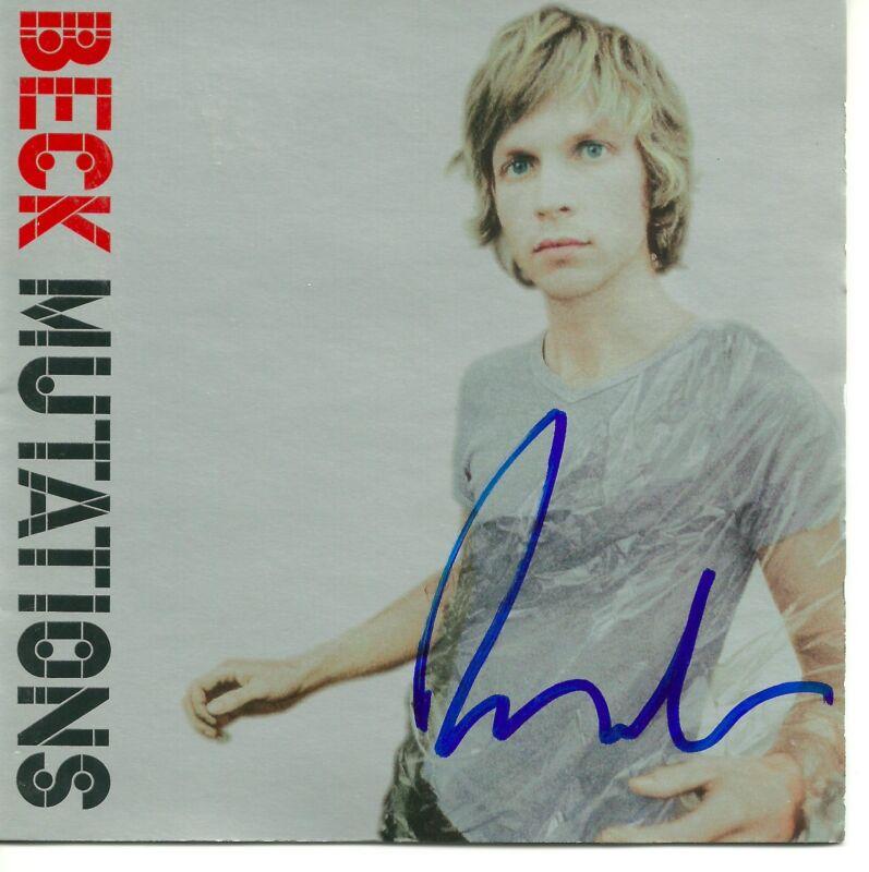 Beck signed Mutations cd