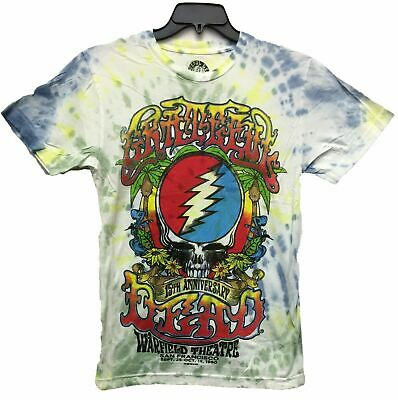 - NEW Authentic Men's Grateful Dead Logo 15 Anniversary Licensed Tie Dye T-Shirt
