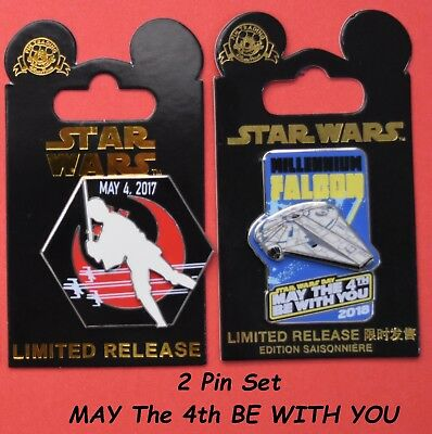 Disney Star Wars Limited Release  May The 4Th Be With You 2017   2018 Exclusive