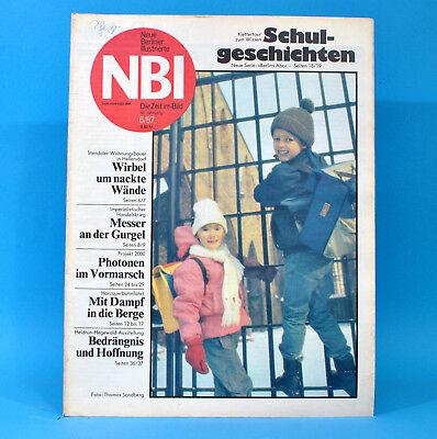 DDR NBI 6 1987 Stendal Hellersdorf Harzquerbahn Kinderfilm Gera Carl Lewis Q