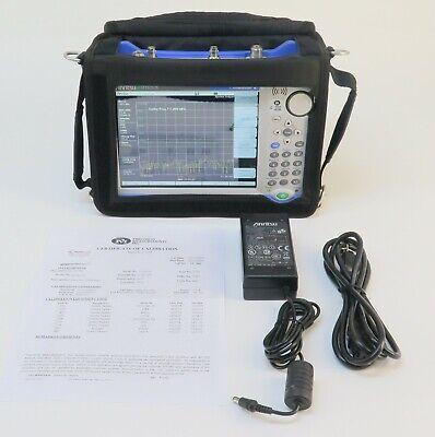 Anritsu Mt8212e Cell Master Base Station Analyzer W Option 19 27 31 40 41 44 65