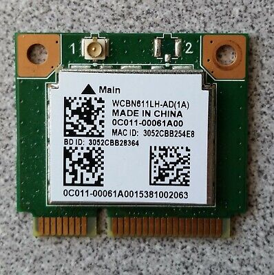 Asus D553S D553SA WiFi Wireless Card Realtek RTL8723BE 0C011-00061A00 GENUINE