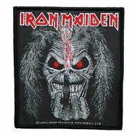 Iron Maiden Aufnäher Candle Eddie Iron  Maiden  Patch Gewebt Nordrhein-Westfalen - Gescher Vorschau