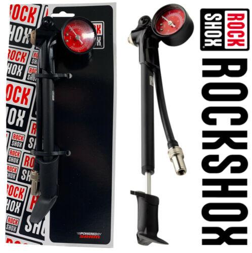 RockShox High Pressure Air Fork Shock Pump 300PSI Max Compact Mountain Fat Bike