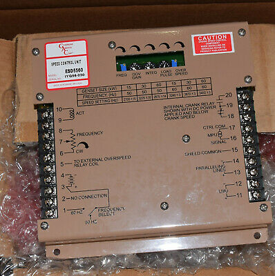 Gac Military Mep 804a 805a 806a Diesel Generator Governor Control Module Esd5560