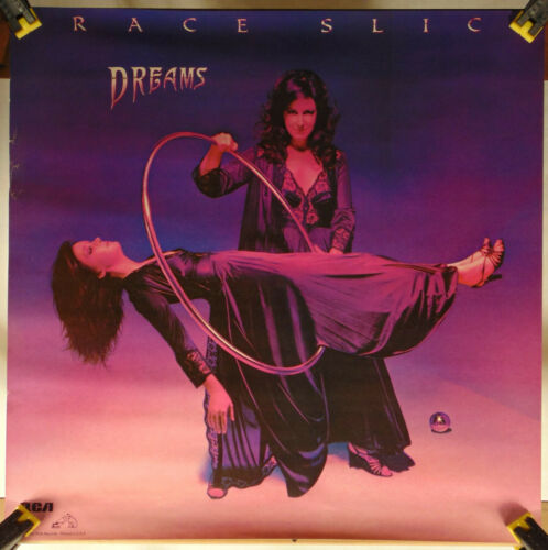 GRACE SLICK--Dreams--Promo Poster