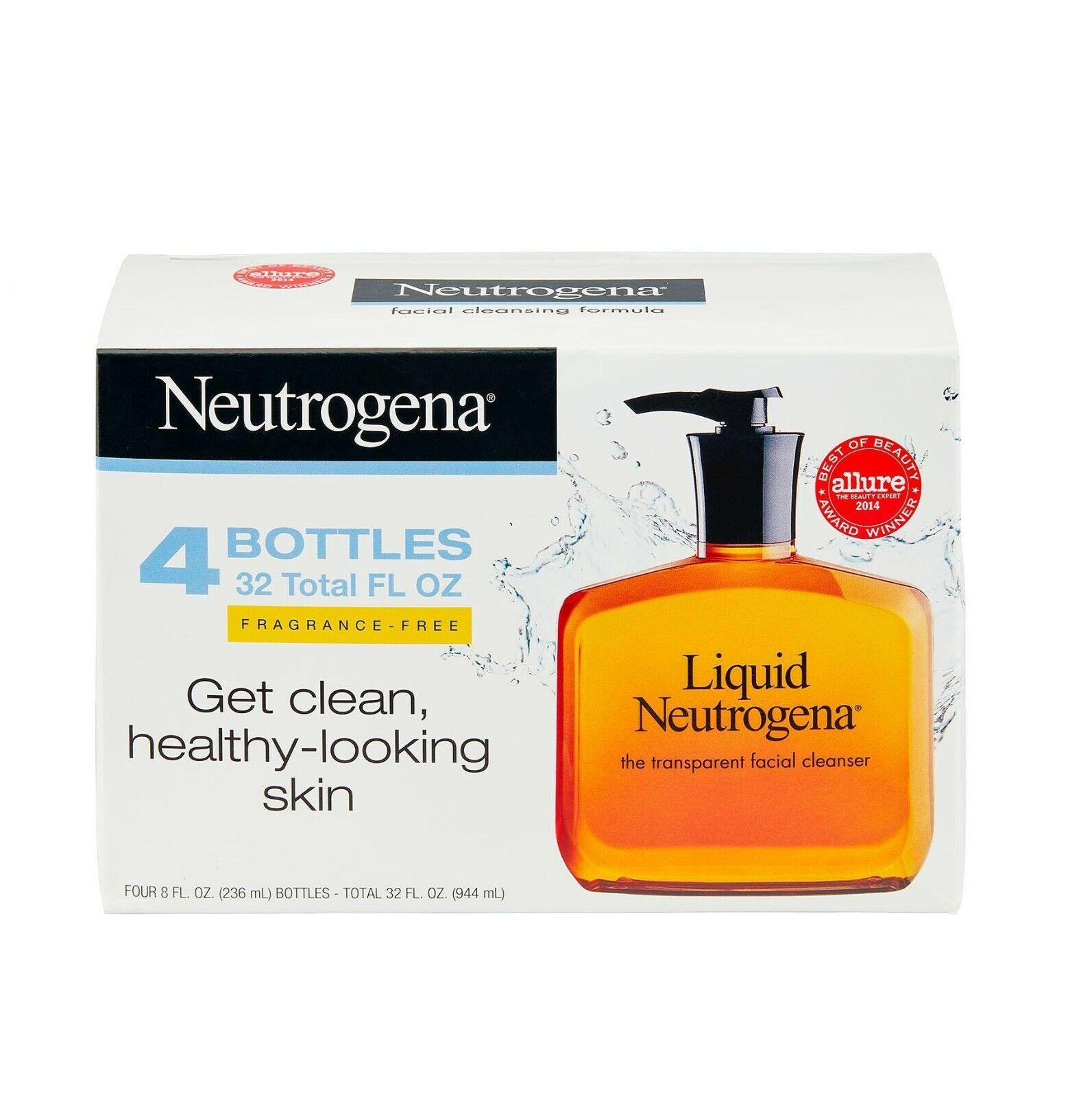 Neutrogena Fragrance Free Liquid Neutrogena, Facial Cleansin
