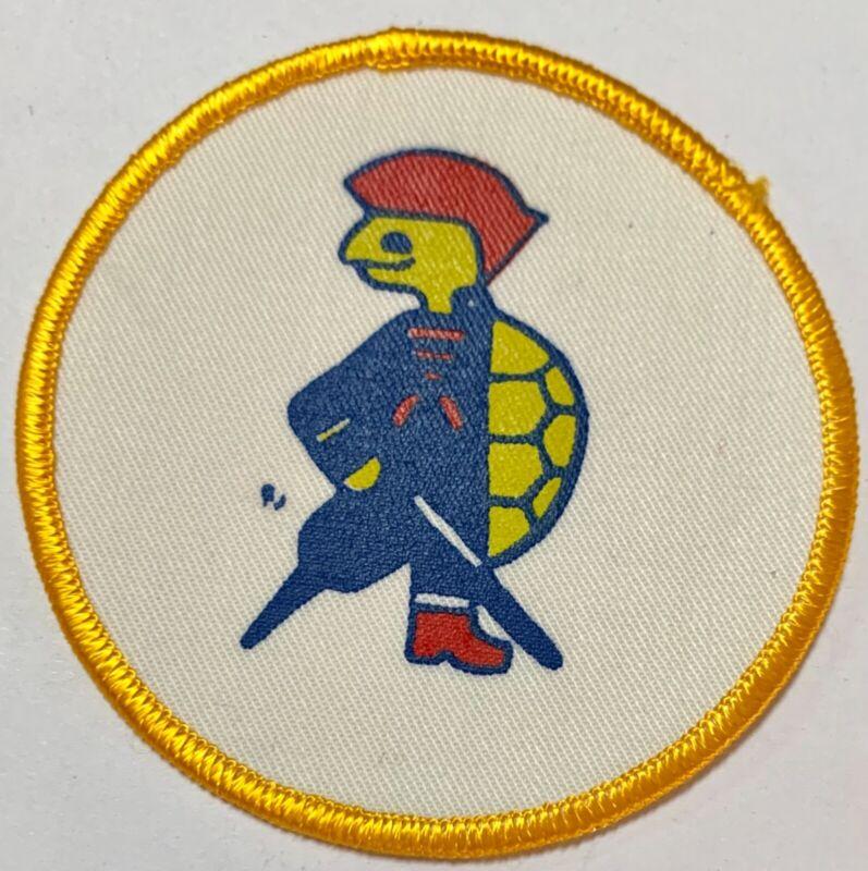 "Vintage Cayman Islands • CAYMAN TURTLE • 3.5"" Round Sew-onTravel Souvenir Patch"