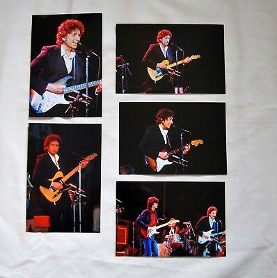 Bob Dylan a stunning set of 35 unpublished photo's 1974 live L.A. Forum
