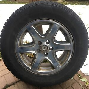 Jeep Liberty Winter Tires and Rims