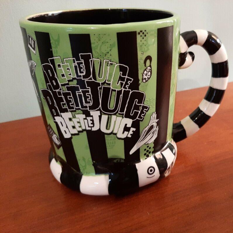 Beetlejuice 3D Sandworm  Extra Large Coffee Mug 18oz.