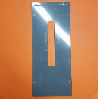 Used 100 Amp Pushmatic Load Center Panel Cover 20 Space
