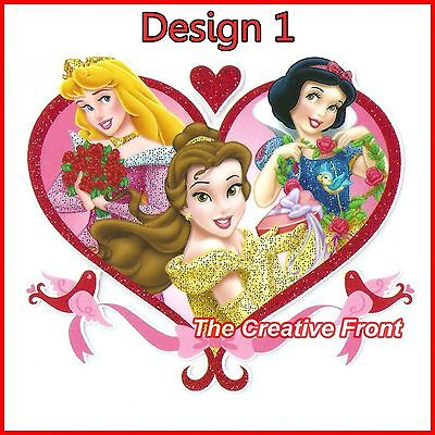 FAIRYTALE PRINCESS - Iron On Glitter T-Shirt Heat Transfers - MORE DESIGNS - NEW
