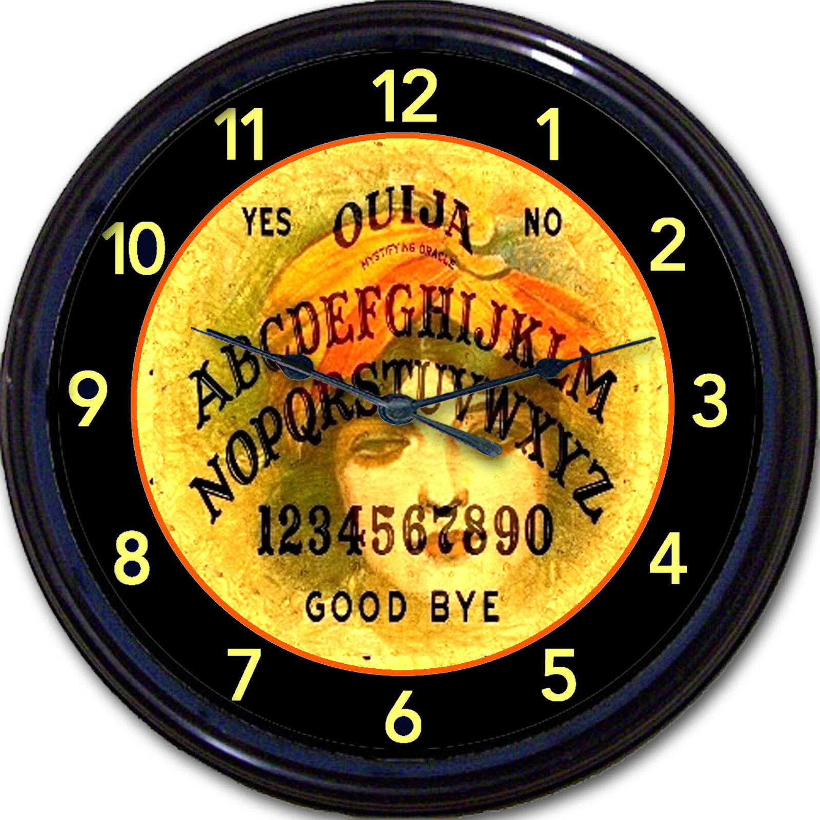 Ouija Board Gypsy Witch Wicca Wall Clock Paranormal Ghost Oracle 10