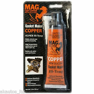 copper rtv high temperature 700f gasket sealant sealer maker 85g tube ebay. Black Bedroom Furniture Sets. Home Design Ideas