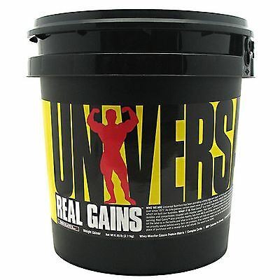 Real Gains, Universal Nutrition, 6.85 Lbs., High Protein Weight Gainer