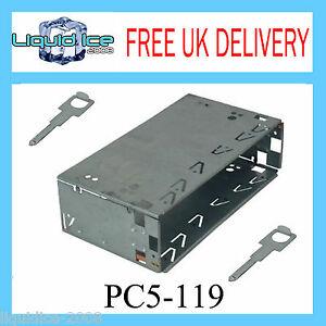 PC5-119-CLARION-SINGLE-DIN-RADIO-STEREO-FITTING-CAGE-WITH-PC5-108-RELEASE-KEYS