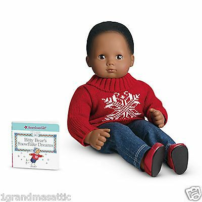American Girl Bitty Baby Twins Winter Wishes Outfit + Book Doll Not Included