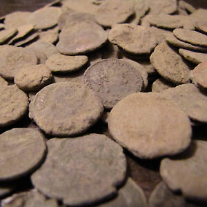 High-Quality-Uncleaned-Roman-coins-Bonus-Ancient-Silver-Coin-10-LOT-WINS-RING