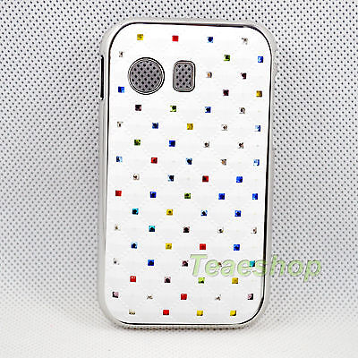 Popular Protective Colorful Hard Crystal Skin Case for Samsung Galaxy Y S5360 on Rummage