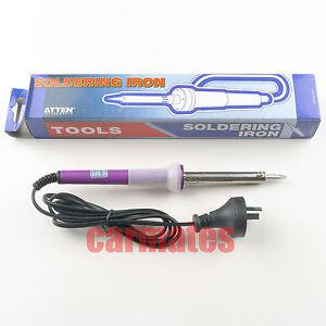 ATTEN Solder SOLDERING IRON 60W Chisel Tip OZ 240V Plug with LED indicator OZ