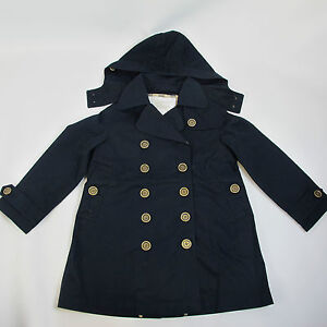 NEW-BURBERRY-Boys-Navy-Carrington-Jacket-with-Nova-Check-Trim-Modern-Trench-Coat