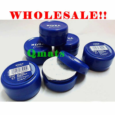 2 / 6 /12 /24 /36 Nivea Creme Hand Cream 15ml Moisturizer Travel Wholesale