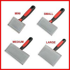 NEW-Dog-Pet-Grooming-Slicker-Brush-Mini-Small-Medium-Large