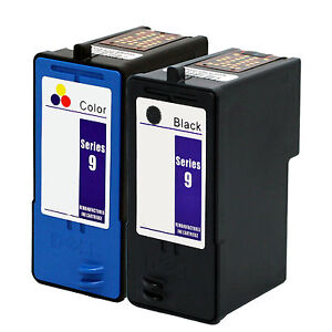 2-PK-Dell-Series-9-Black-Color-Ink-Cartridge-Set-Combo-MK992-MK993-High-Yield