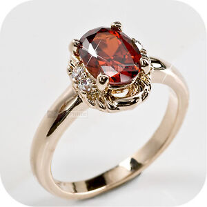 18K-ROSE-GOLD-GP-SWAROVSKI-CRYSTAL-ENGAGEMENT-WEDDING-RING-US-6-5-AU-N-RED